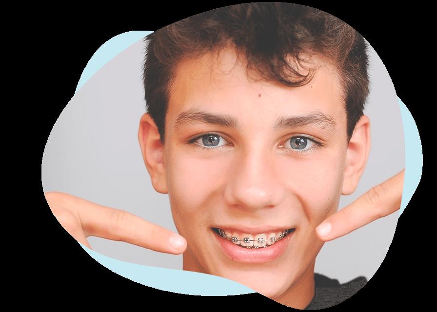 metal braces for kids